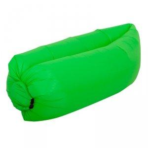 Lazy Bag SOFA materac LEŻAK na POWIETRZE zielony