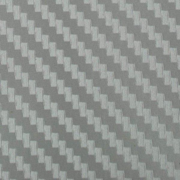 Folia odcinek carbon 3D srebrna 1,27x0,1m