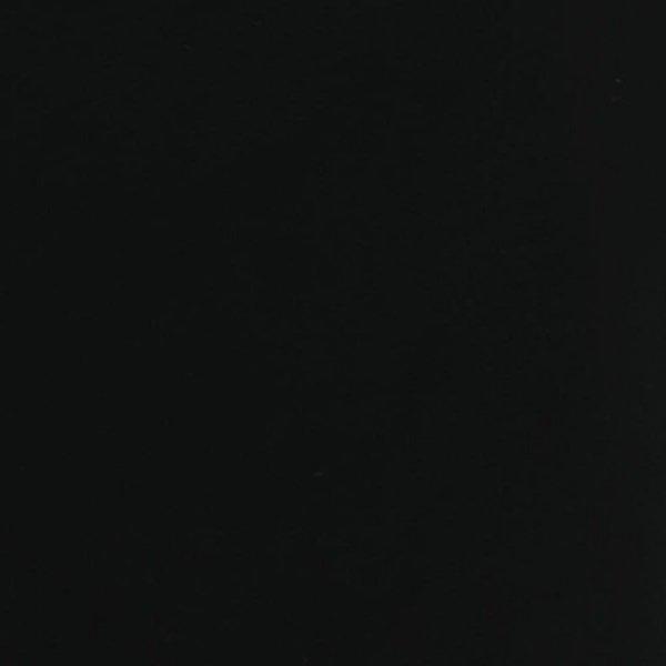 Folia odcinek matowa gładka czarna 1,52x0,1m