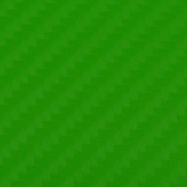 Folia odcinek carbon 4D zielona 1,52x0,1m