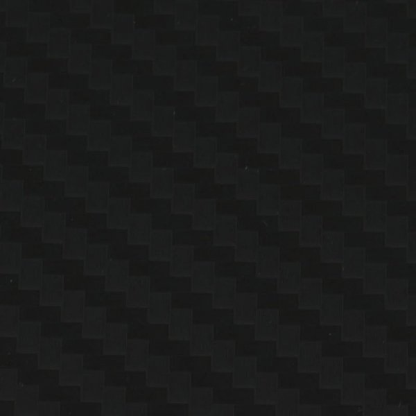 Folia odcinek carbon 5D czarna 1,52x0,1m