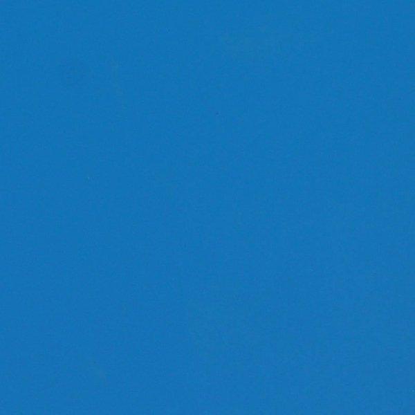 Folia odcinek matowa gładka niebieska 1,52x0,1m