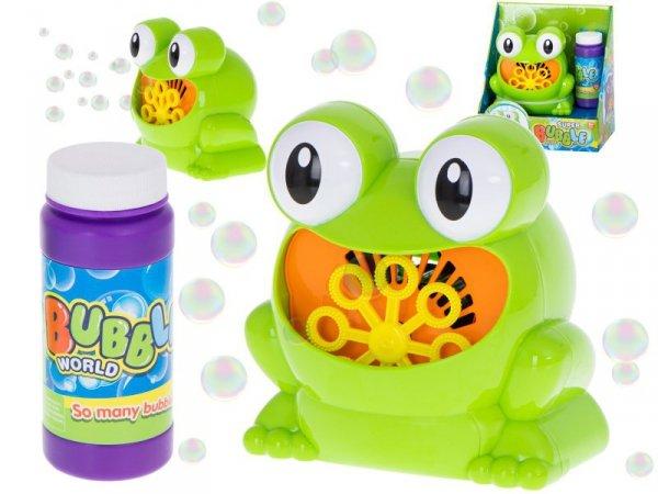 Bańki mydlane automat do baniek żabka żaba