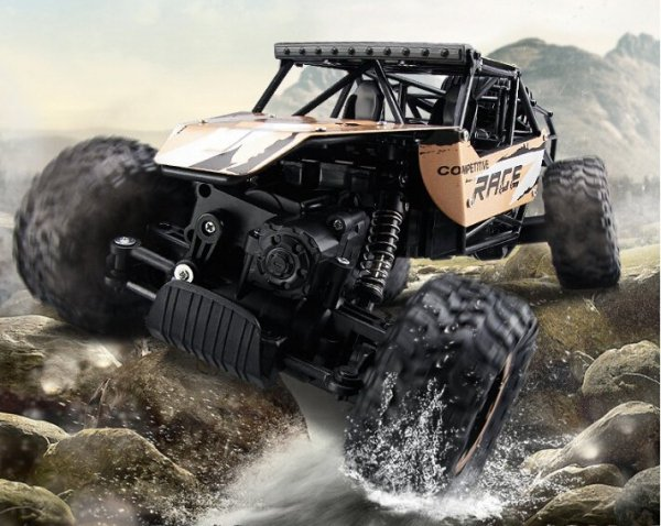 Samochód RC Rock Crawler 1:12 4WD 20km/h 2000 mAh METAL