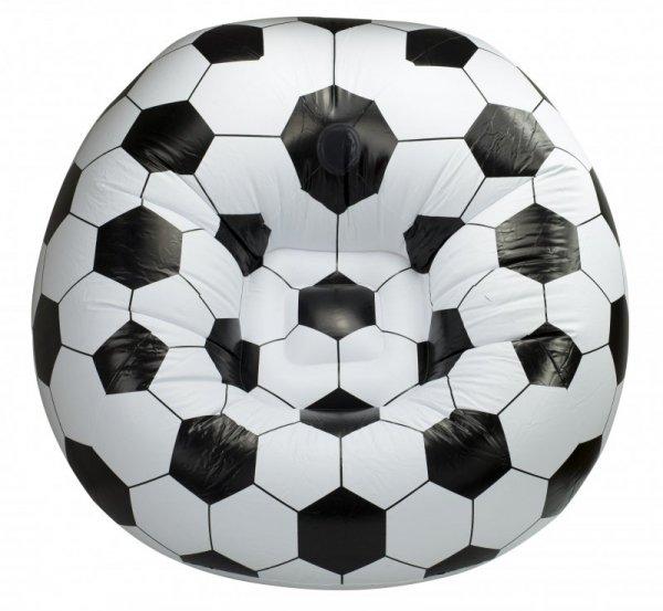 Fotel dmuchany piłka nożna 90x90cm