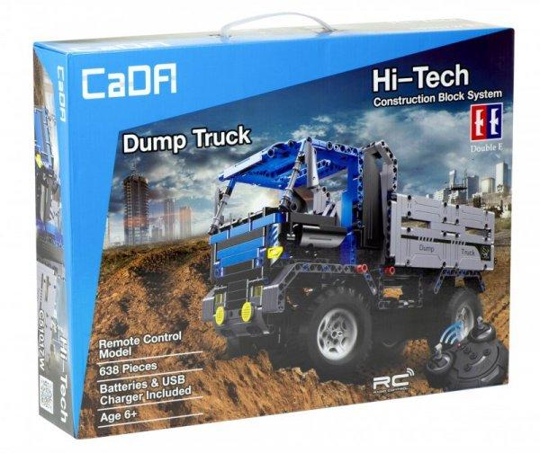 Ciężarówka RC Klocki CADA EE 2w1 C5104W 683el.