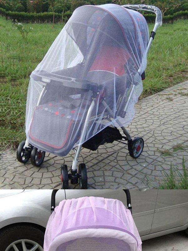 Moskitiera elastyczna na gumkę do wózka 140cm