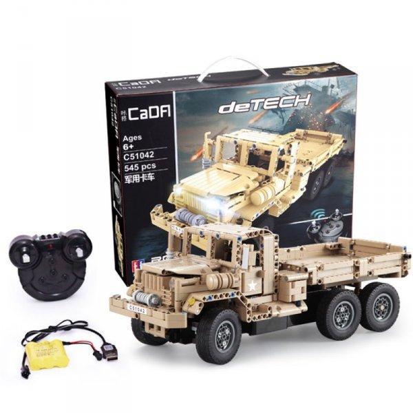Ciężarówka RC klocki CADA EE 2W1 C51042W