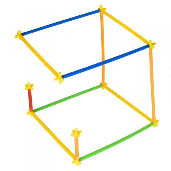 Słomki do budowania klocki konstrukcyjne BOX 1000el.