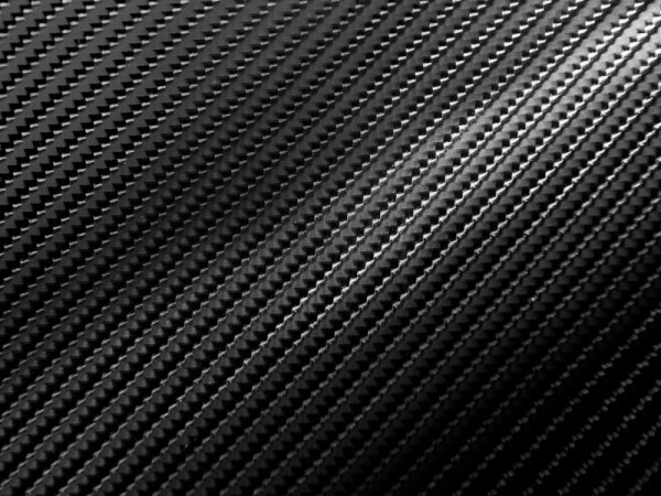 Folia odcinek carbon 4D czarna 1,52x0,1m