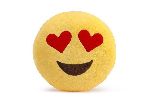Poduszka Dekoracyjna  Emotki Emoji - lover