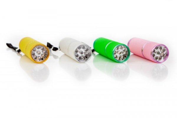 Mini Lampa UV Latarka LED 9W do paznokci