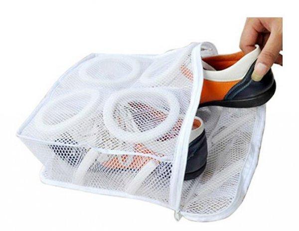 Worek siatka do prania obuwia
