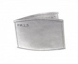 Zapasowe filtry (2) do maski antysmogowej bawełnianej dla dorosłych N99