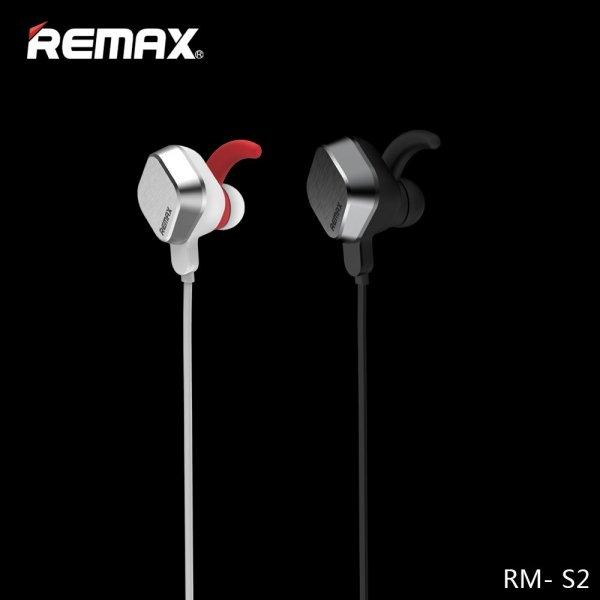 Słuchawki MAGNET sports Remax RB-S2 czarne do biegania