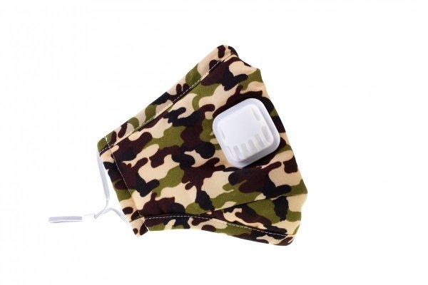 SMOG maska antysmogowa moro wojskowa