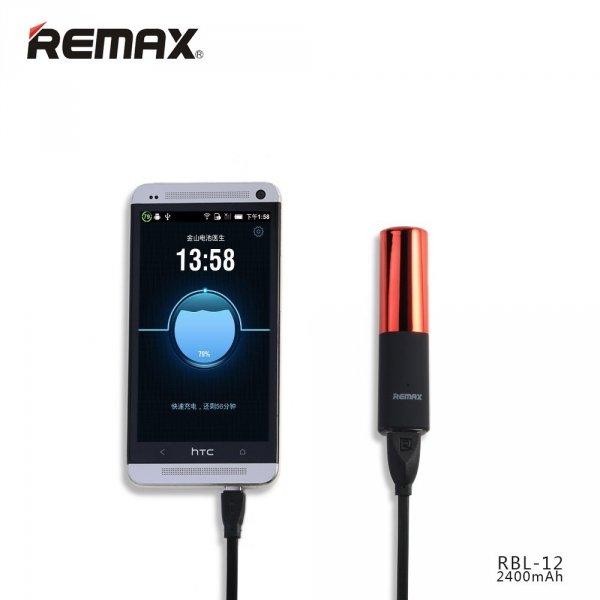 Lipmax - powerbank w kształcie szminki 2400 mAh