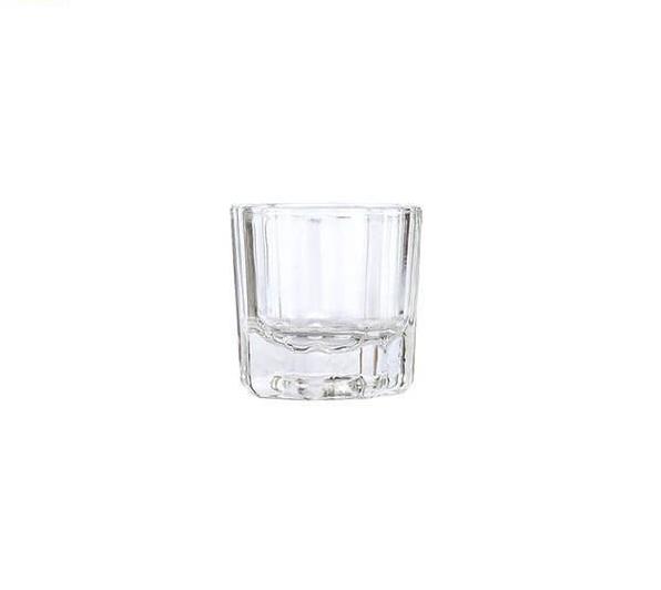 Dappenglas zum Mischen der Farben