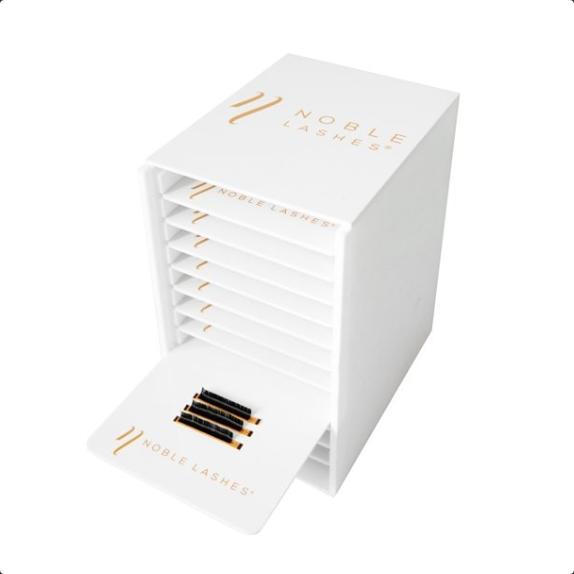 Lash Box Organizer mit 11 Wimpernplatten
