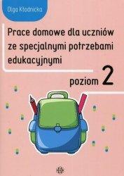 Prace domowe dla uczniów ze specjalnymi potrzebami edukacyjnymi Poziom 2
