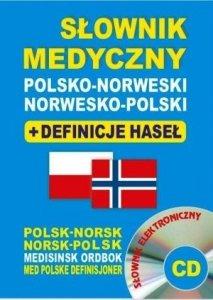 Słownik medyczny polsko-norweski norwesko-polski + definicje haseł + CD