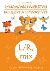 Rymowanki i wierszyki do języka gimnastyki L/R mix