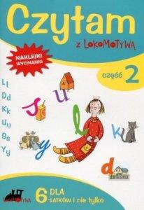 Czytam z Lokomotywą Część 2 dla 6 latków i nie tylko