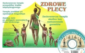 Zdrowe plecy Spiralna stabilizacja kręgosłupa SM-system + DVD