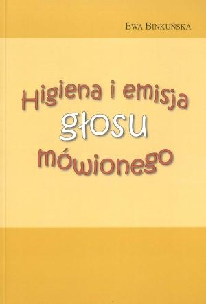 Higiena i emisja głosu mówionego