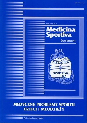 Medyczne problemy sportu dzieci i młodzieży