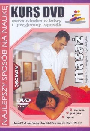 Kurs DVD Masaż Tajemnice magicznego dotyku Technika Praktyka Sprzęt