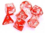 Komplet kości REBEL RPG - Nebula - Czerwone