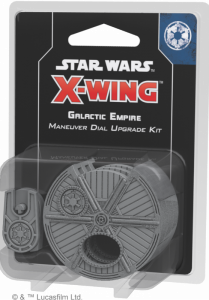 Star Wars: X-Wing - Galactic Empire Maneuver Dial Upgrade Kit (druga edycja)