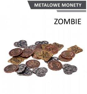 Metalowe monety - Zombie (zestaw 24 monet)