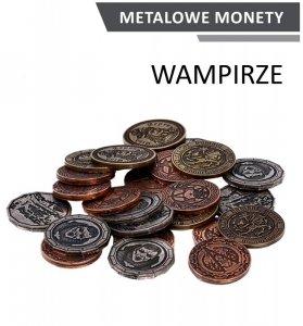Metalowe monety - Wampirze (zestaw 24 monet)