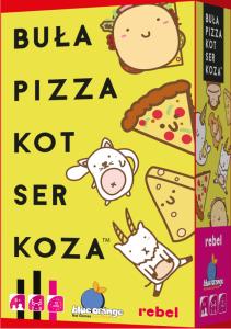 Buła, Pizza, Kot, Ser, Koza (gra familijna)