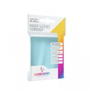 Gamegenic: Inner CCG Sleeves (64x89 mm), 100 sztuk