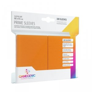 Gamegenic: Prime CCG Sleeves (66x91 mm) - Orange, 100 sztuk