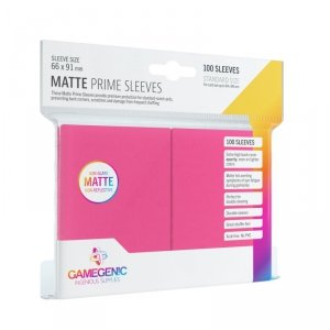 Gamegenic: Matte Prime CCG Sleeves (66x91 mm) - Pink, 100 sztuk