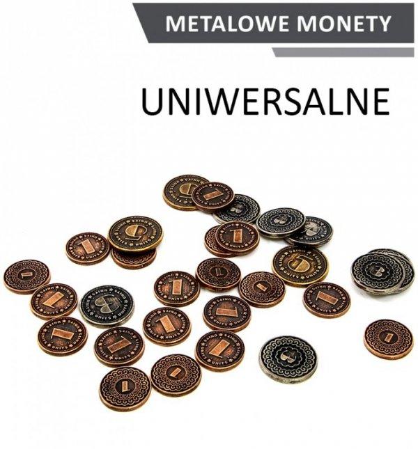 Metalowe Monety - Uniwersalne (zestaw 30 monet)