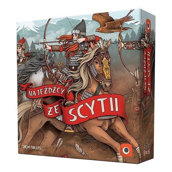 Najeźdźcy ze Scytii (edycja polska) pudelko