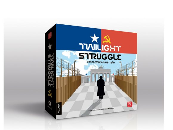 TWILIGHT STRUGGLE Zimna Wojna 1945–89 - przedsprzedaż