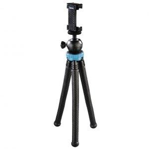Statyw Hama mini Flexpro 3w1, 27 cm, niebieski