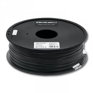 Filament Qoltec do druku 3D | ABS PRO | 1,75mm | 1kg | Black