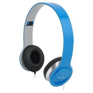 Słuchawki z mikrofonem LogiLink HS0031 stereo HQ, niebieskie