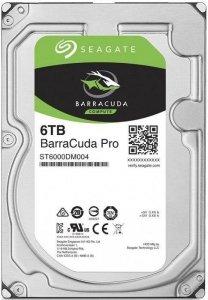 Dysk SEAGATE BarraCuda® Pro 6TB ST6000DM004 7200 256MB SATA III NCQ