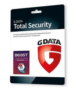 GDATA Total Security 1PC 1rok karta-klucz
