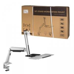 """Stelaż do monitorów stanowiskowych LogiLink BP0040 13-32"""", max. 8kg"""