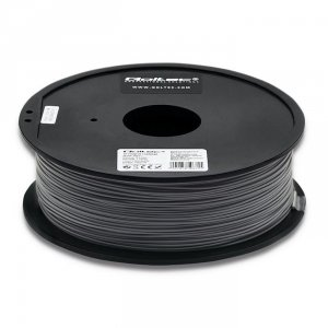 Filament Qoltec do druku 3D | PLA PRO | 1,75mm | 1kg | Grey