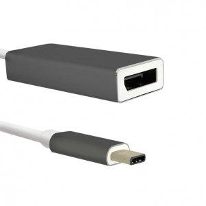 Adapter Qoltec USB 3.1 typC męski / DisplayPort żeński